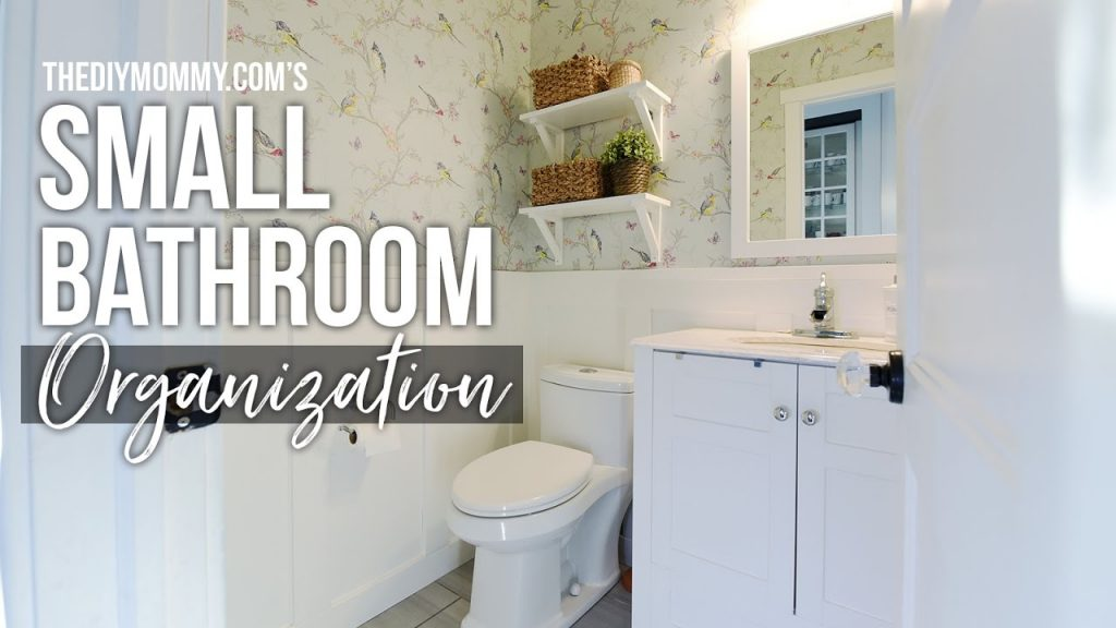 Organization Diy Home Decor Challenge Powder Room Small