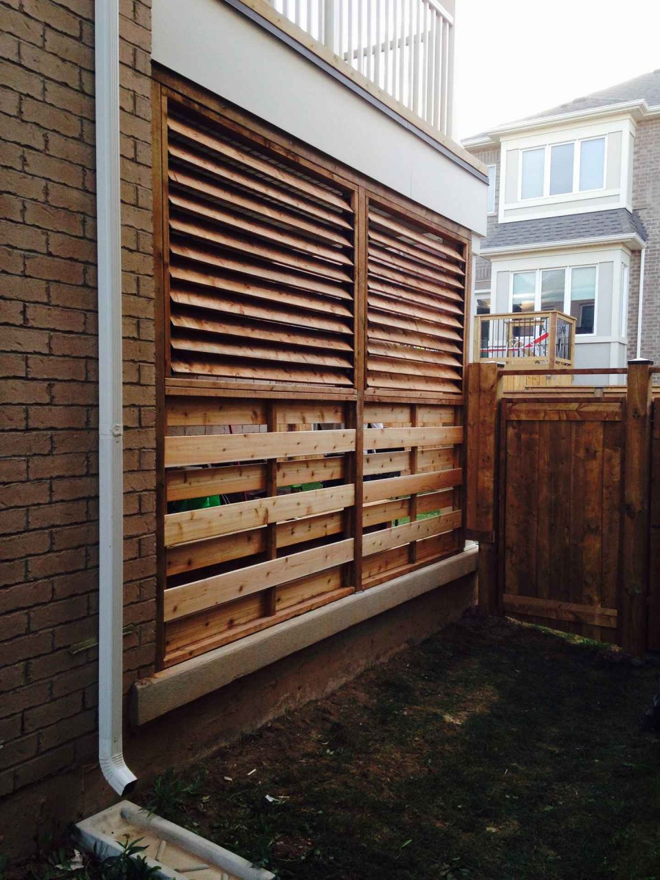 Other Louvered Applications Flexfence Louver System