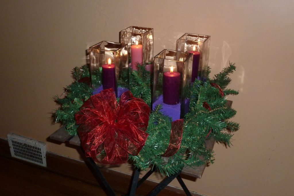 Outdoor Advent Wreath For Instructions Please See My Blog Link