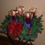 Advent Wreath Outdoor Decoration