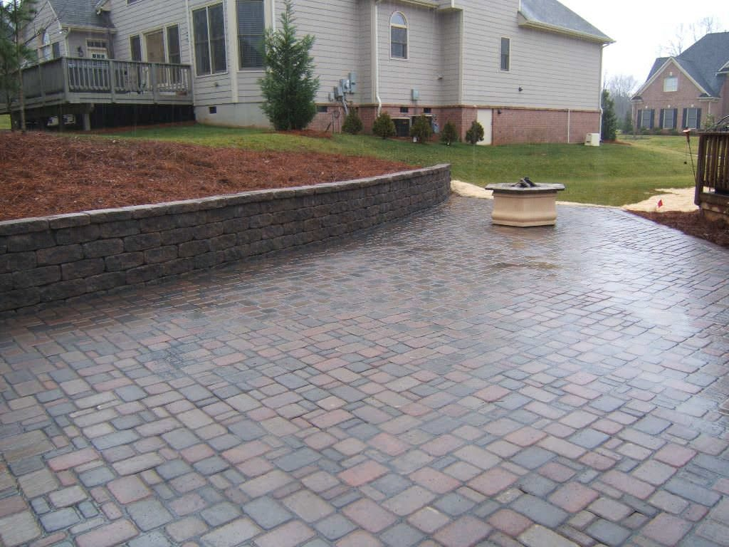 Outdoor Brick Paver Patio Designs Real Bar And Bistro Best Patio