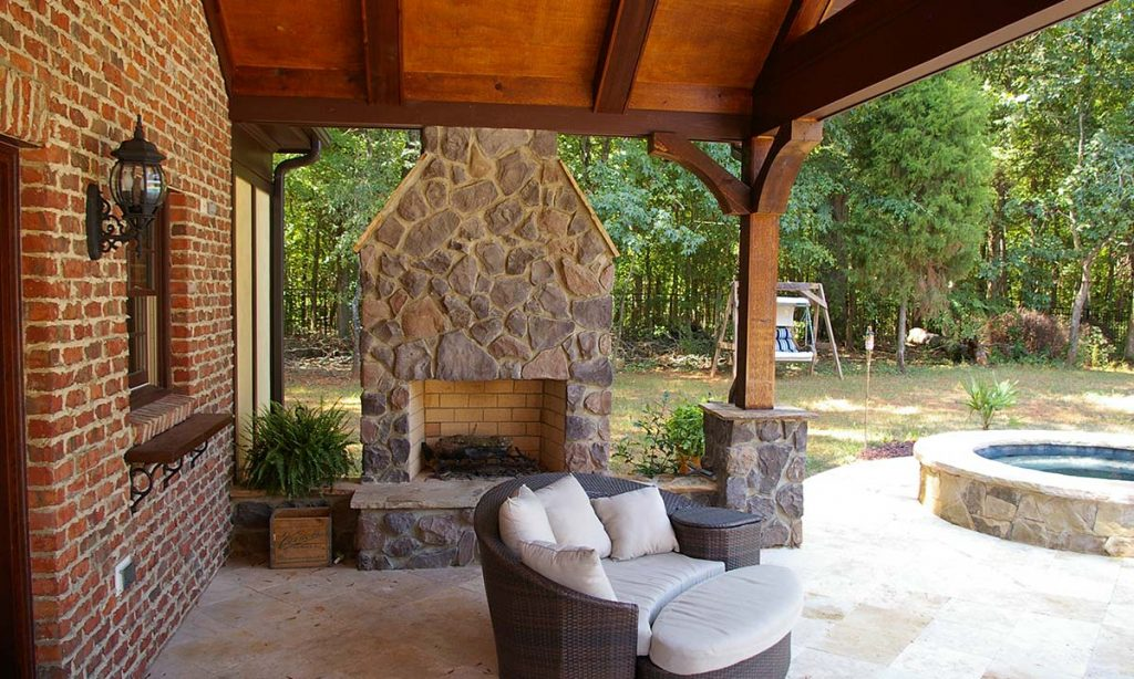 Outdoor Living Pool Houses Outdoor Fireplaces More Charlotte Nc