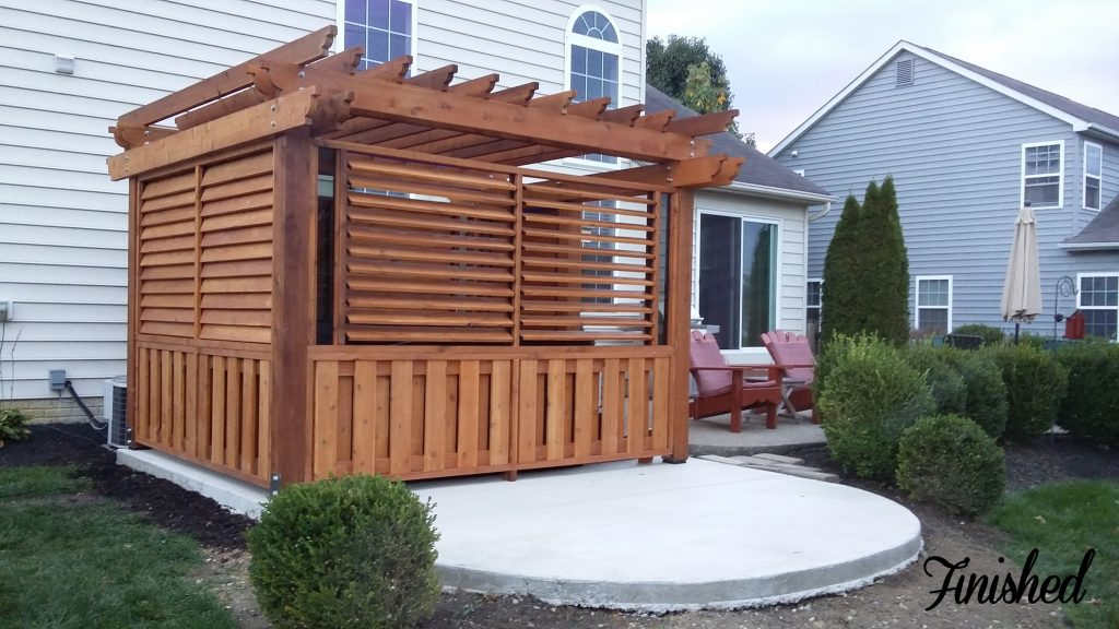 Outdoor Louvered Spa Enclosure Hot Tub Hot Tub In 2019 Hot Tub
