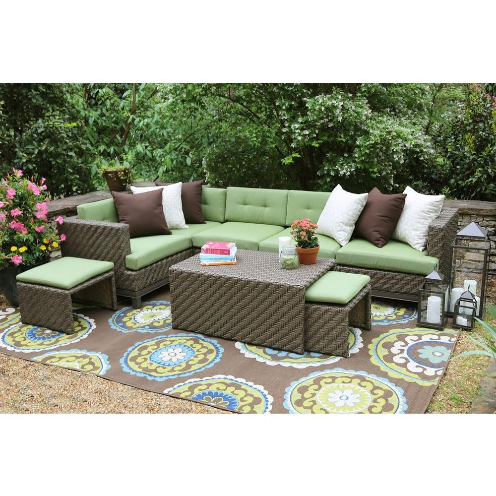 Outdoor Sectionals Outdoor Lounge Furniture The Home Depot