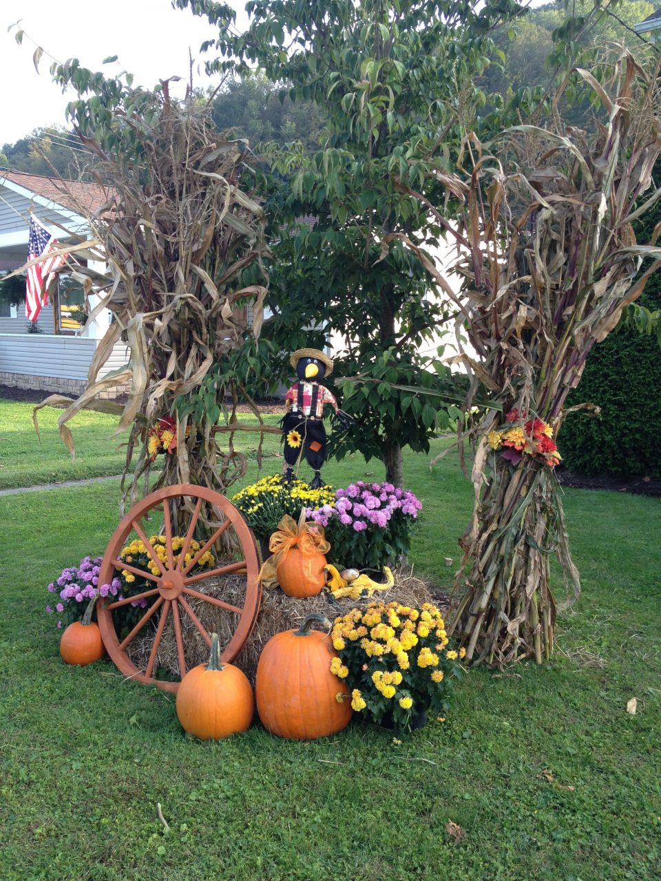 Outside Fall Decoration Fall Fall Yard Decor Outside Fall