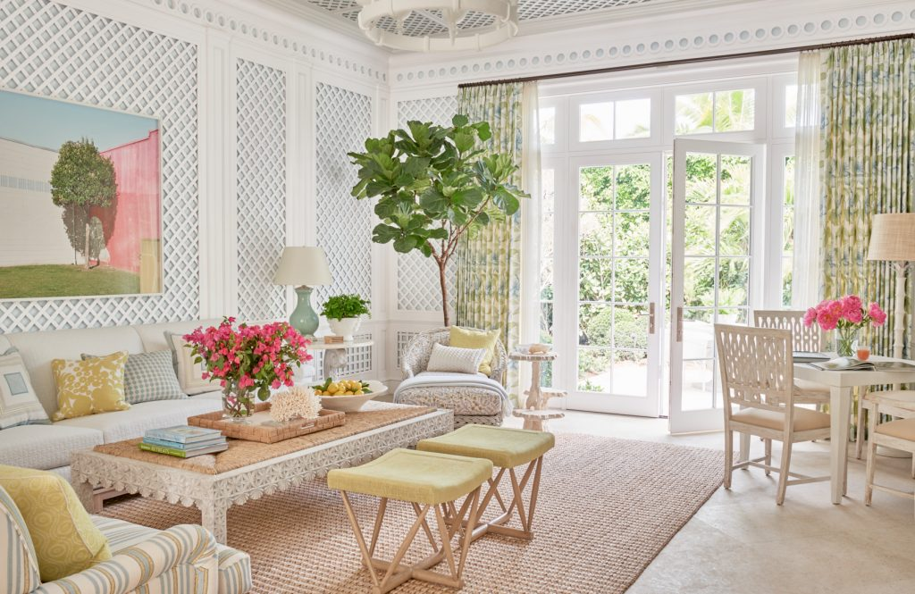 Palm Beach Home Tour See Inside The Crisp And Fresh Florida Mansion