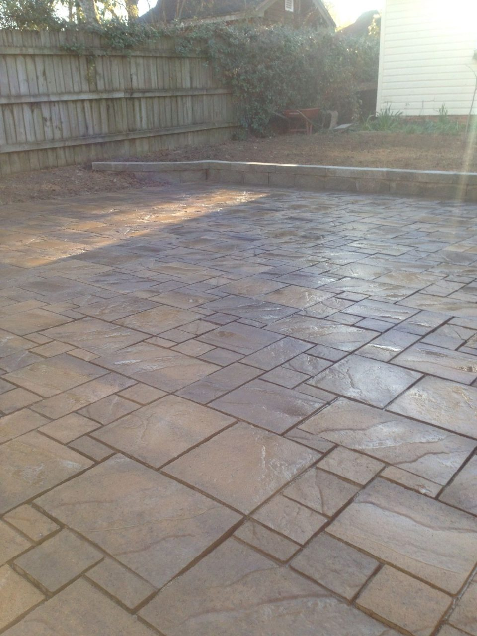 Paver Patio New Type Of Stone New Project Pinterest Patios