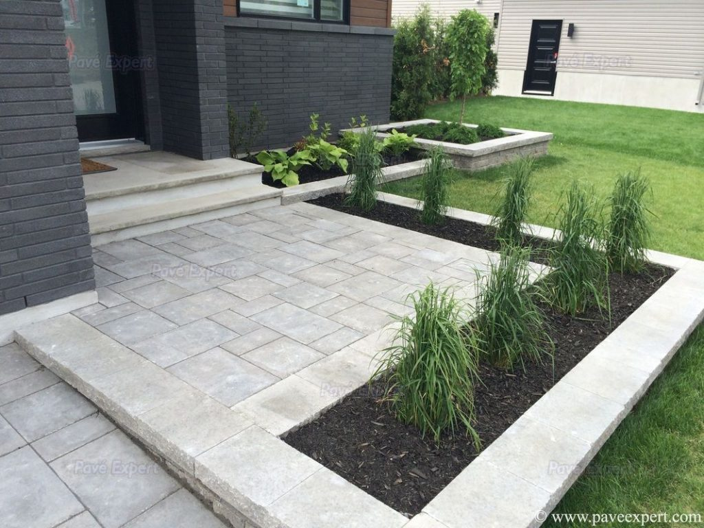 Paver Stone Patio Designs Stylish Ideas Diy Brick Regarding 4