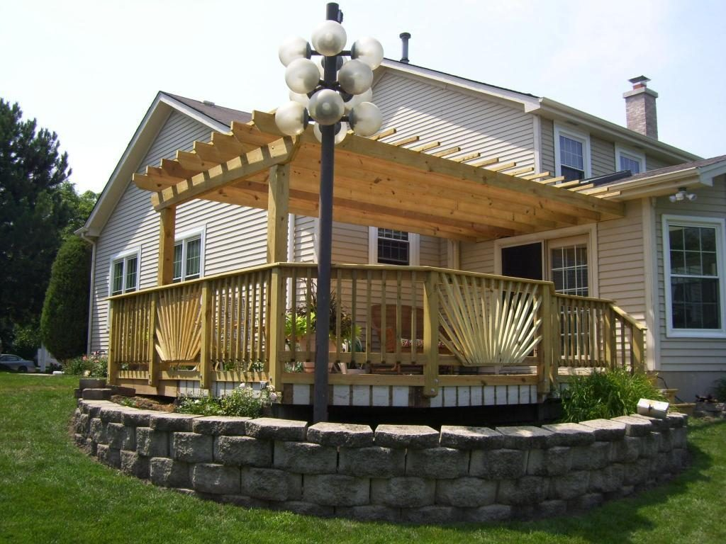 Pergola On Deck Harry Sandler Home Trend Deck Pergola Design Ideas