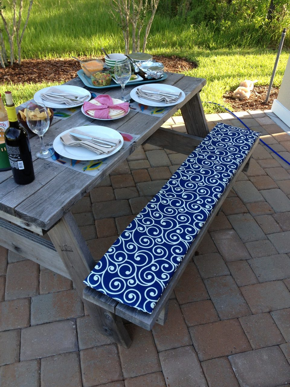 Picnic Table Setting Picnic Table Setting Best Of 110 Best Party