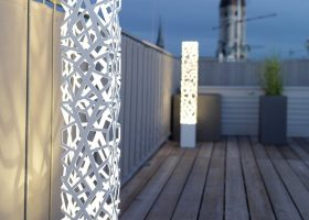 Modern Outdoor Lighting Floor Lamp