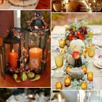 Fall Pumpkin Wedding Centerpieces Ideas