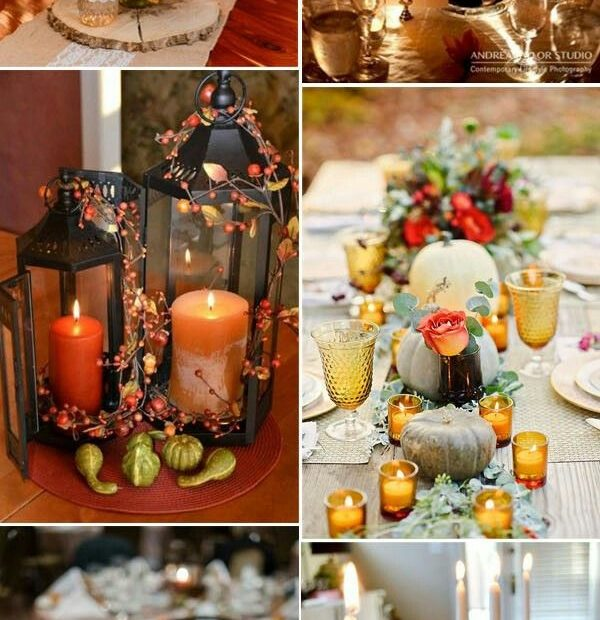 Pin Lizzy Elsoffer On Wedding Ideas Fall Wedding Centerpieces