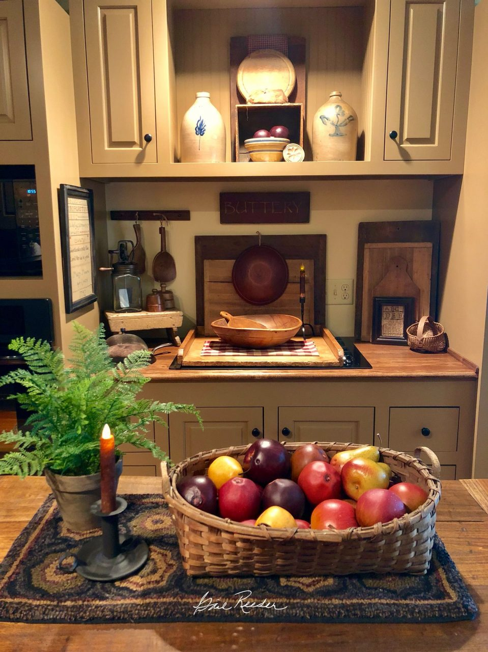 Primitives Primitive Decor In 2019 Farmhouse Kitchen Decor