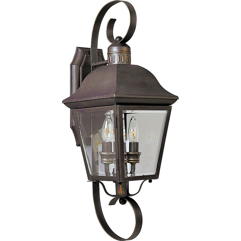 Progress Lighting Andover Collection 2 Light 2125 In Outdoor