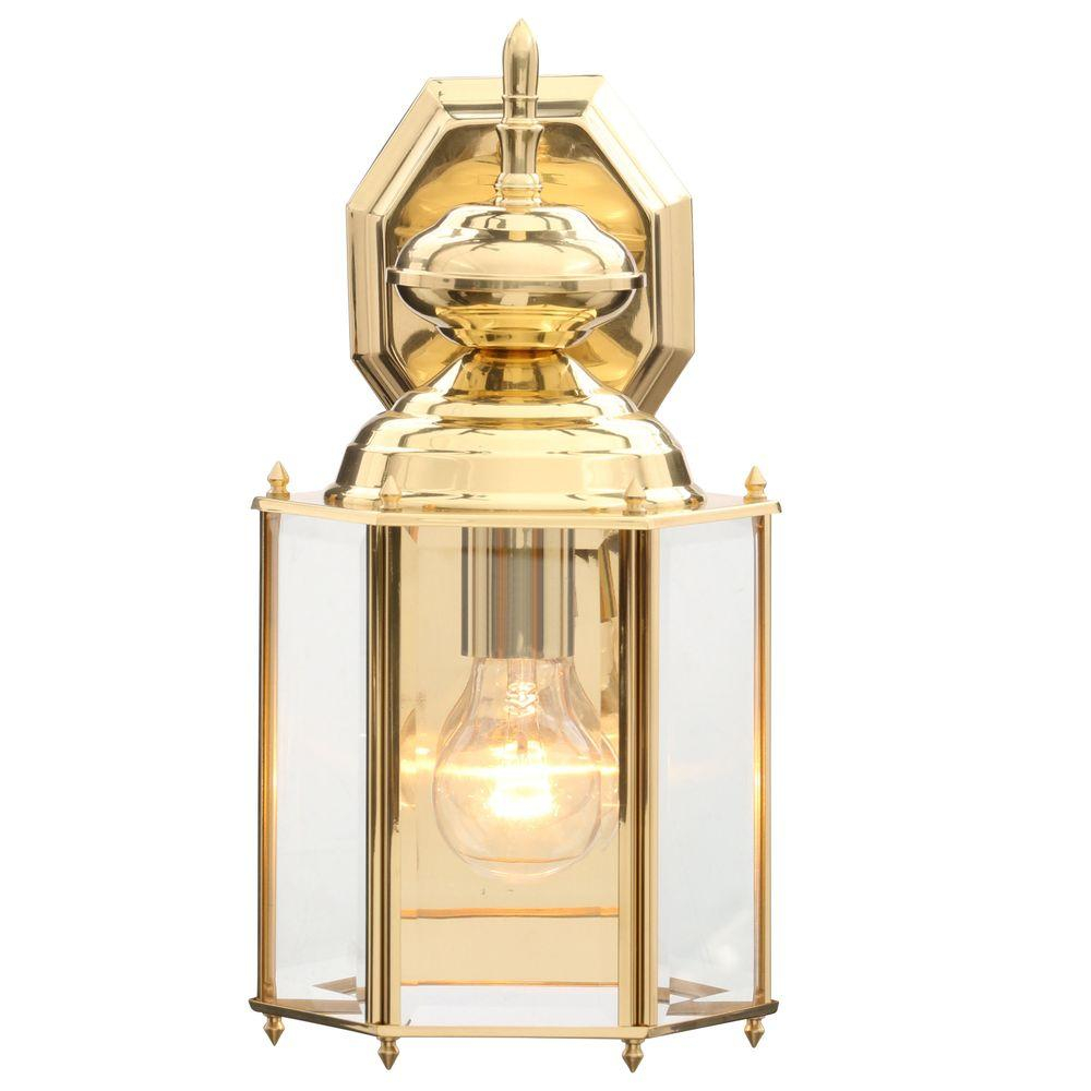 Progress Lighting Brass Guard Collection Polished Brass 1425 In