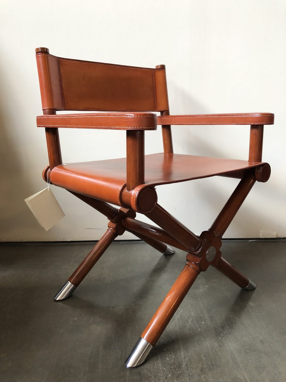 Ralph Lauren Home Modern Hollywood Leather Directors Chairs A