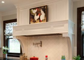 Custom Wood Range Hoods Kitchen