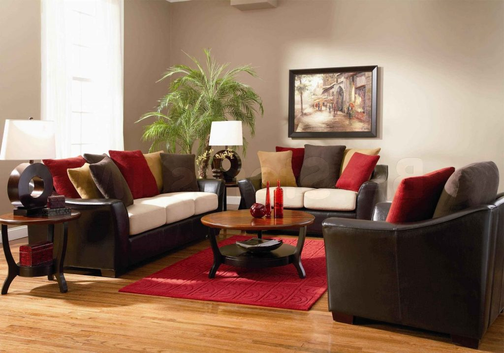 Red And Tan Living Room Decor Living Room Ideas