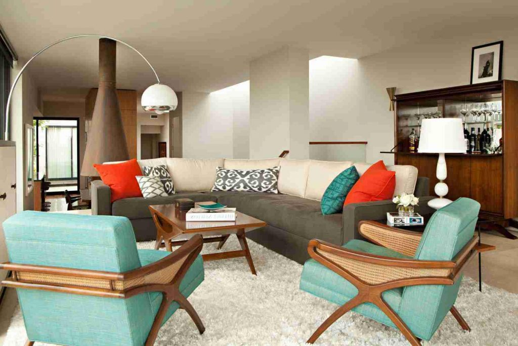 Retro Living Room Decor House Face Idea About 5 Retro Living Room