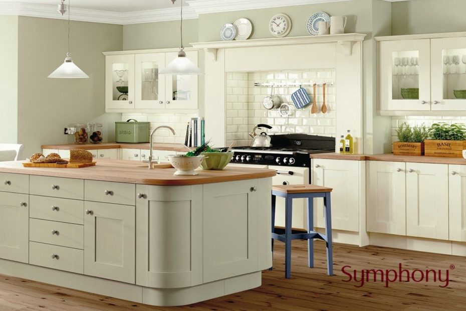 Rockfort Ivory And Sage Kitchen New Kitchen In 2019 Green