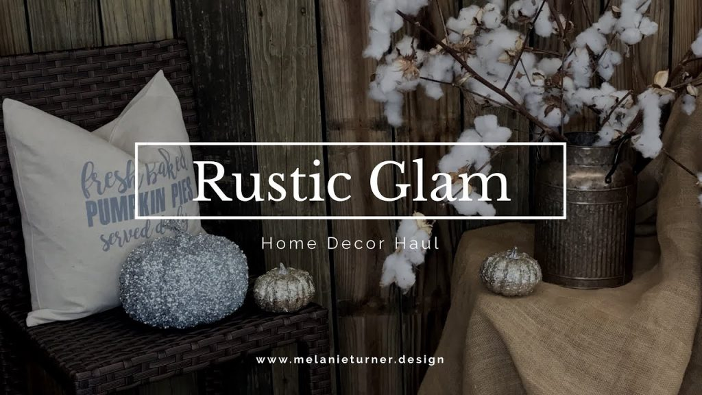 Rustic Glamwoodland Fall Winter Home Decor Shopping Haul Youtube