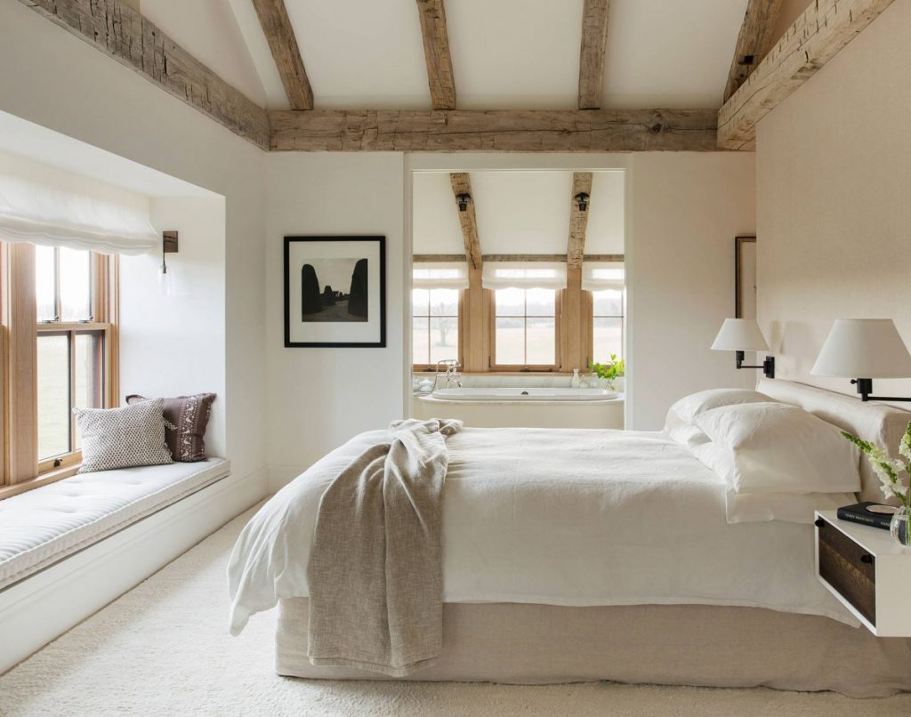 Rustic Interior Design Styles Bedrooms Modern Farmhouse Bedroom