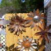 Rustic Garden Metal Flower Art