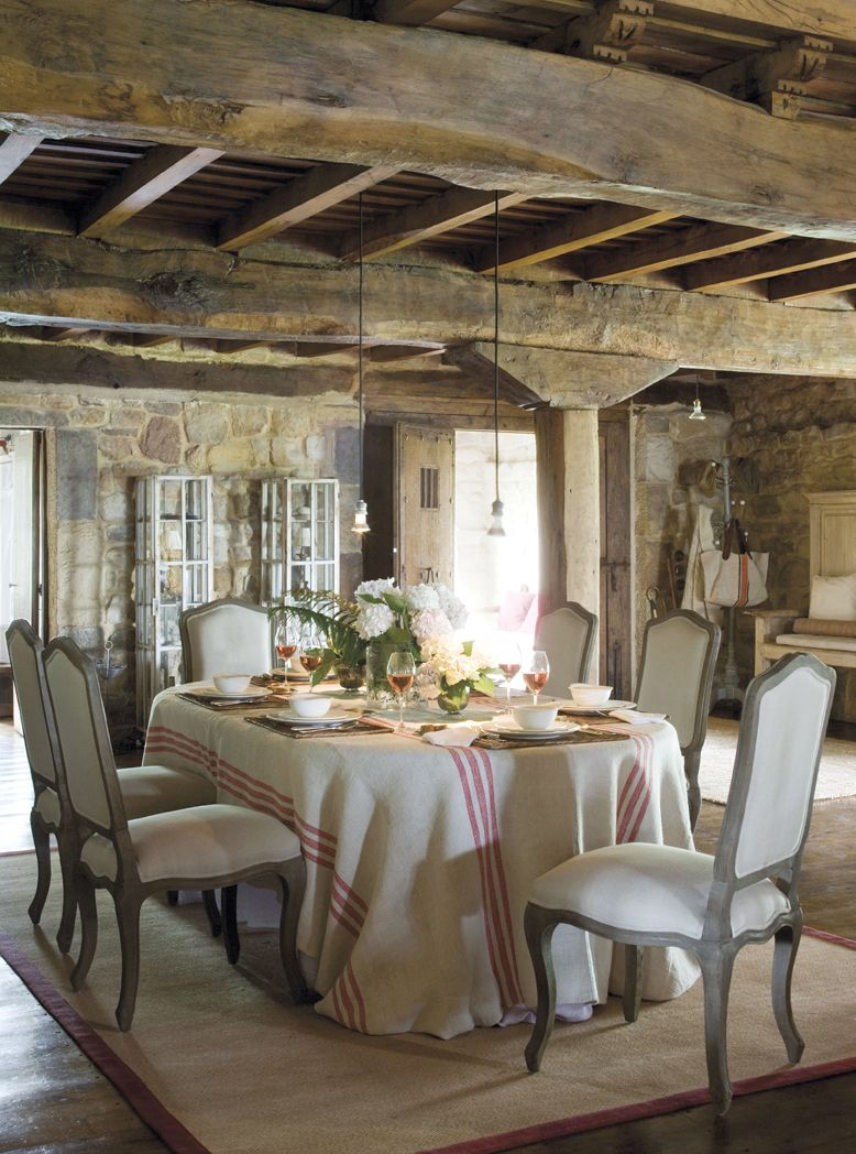 Rustic Romantic Dining Rooms French Country French Country