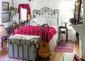 Bohemian Vintage Bedroom Designs