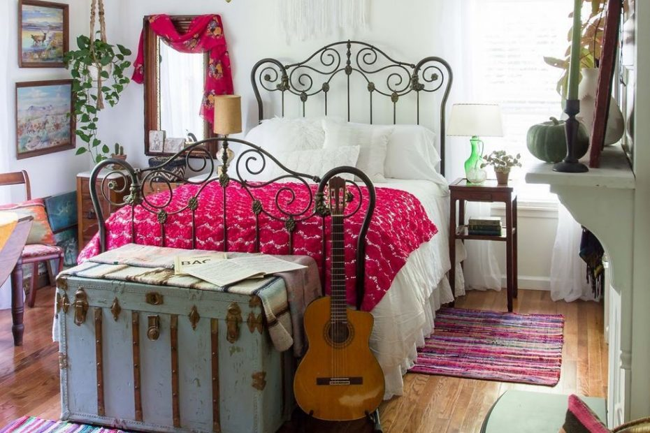 Rustic Vintage Bohemian Bedroom Decorations Ideas 16 Bedrooms