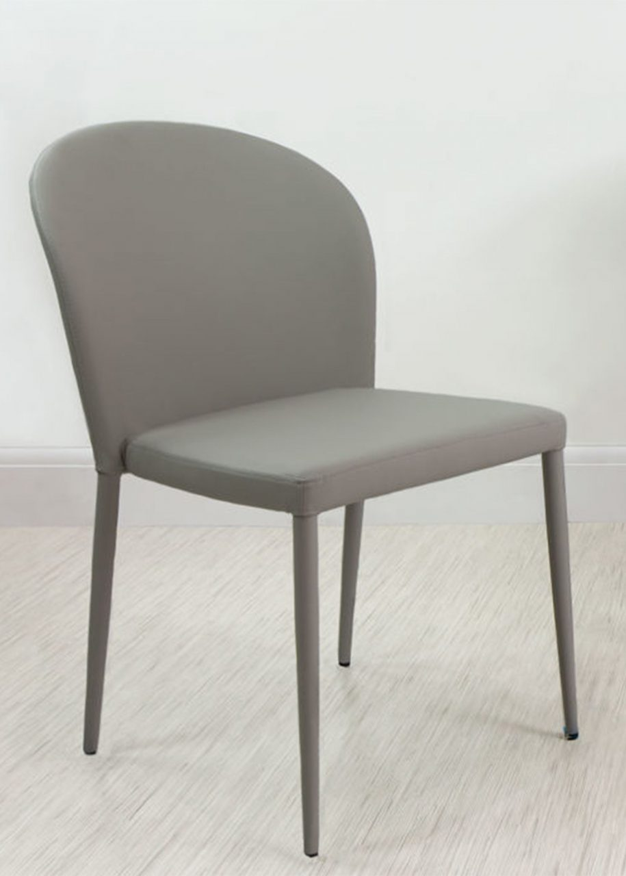 Santo Stackable Faux Leather Dining Chair Danetti Dining Chairs