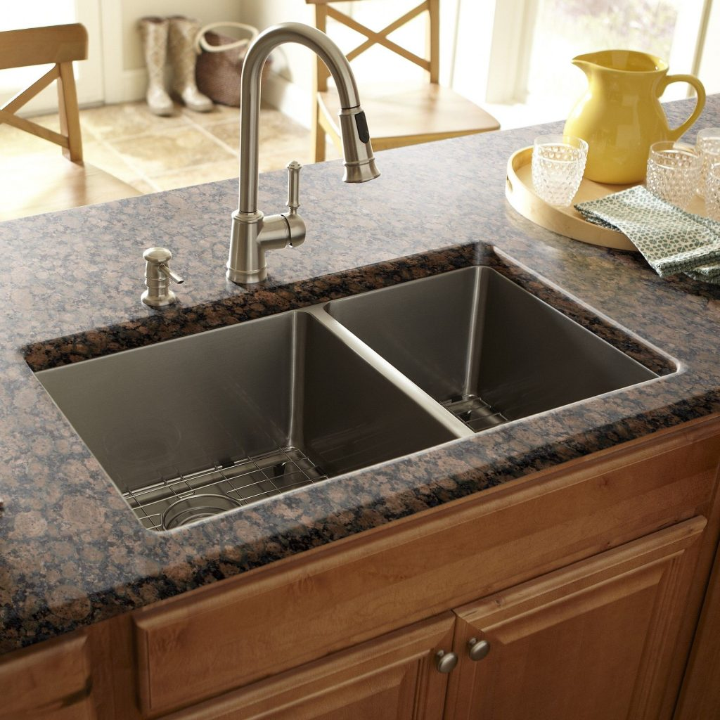 Schon Double Bowl 17 X 30 Kitchen Sink Kitchen Design Double