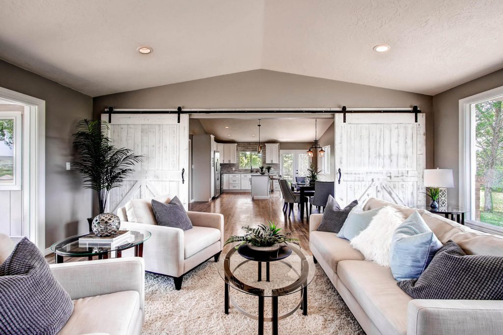 Shab Chic Style Home Staging Design White Orchid Interiors