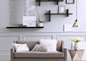 Living Room Wall Shelf Ideas
