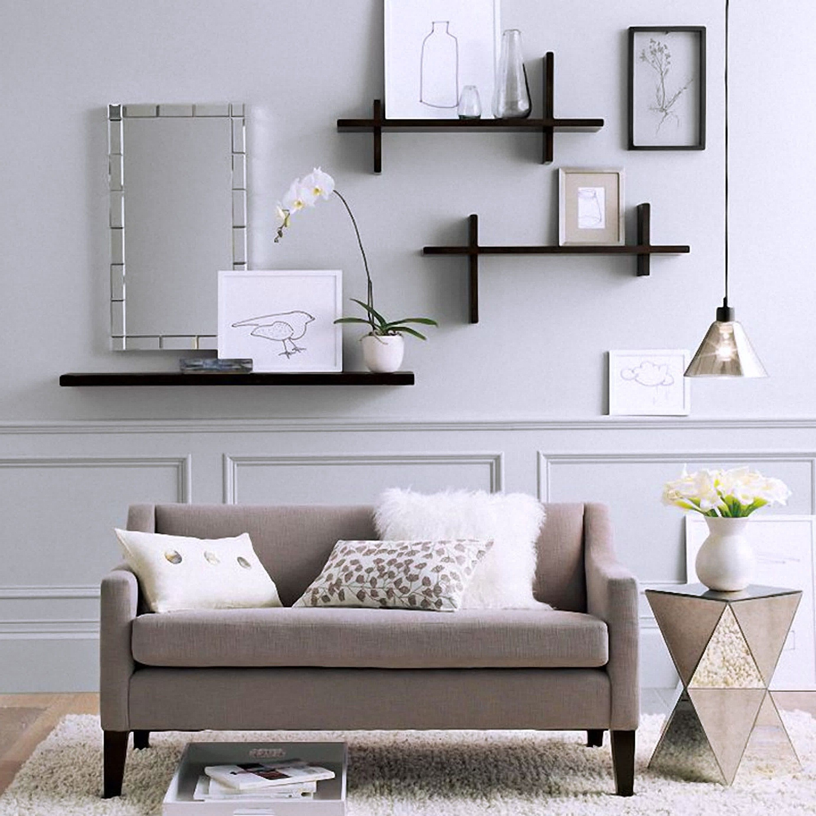Shelving Ideas For Living Room Walls Living Room Shelves Living