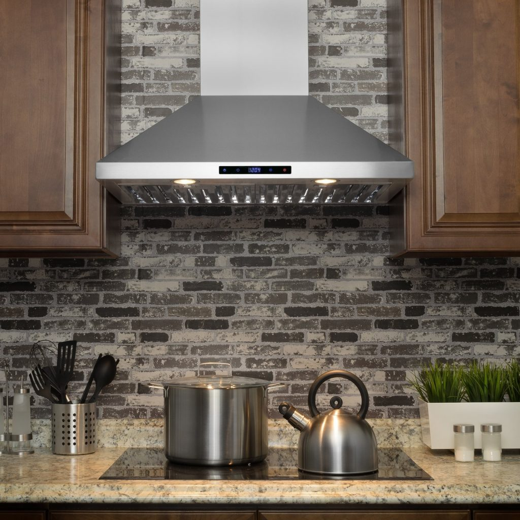 Shop Akdy Rh0196 30 Stainless Steel Wall Mount Range Hood With