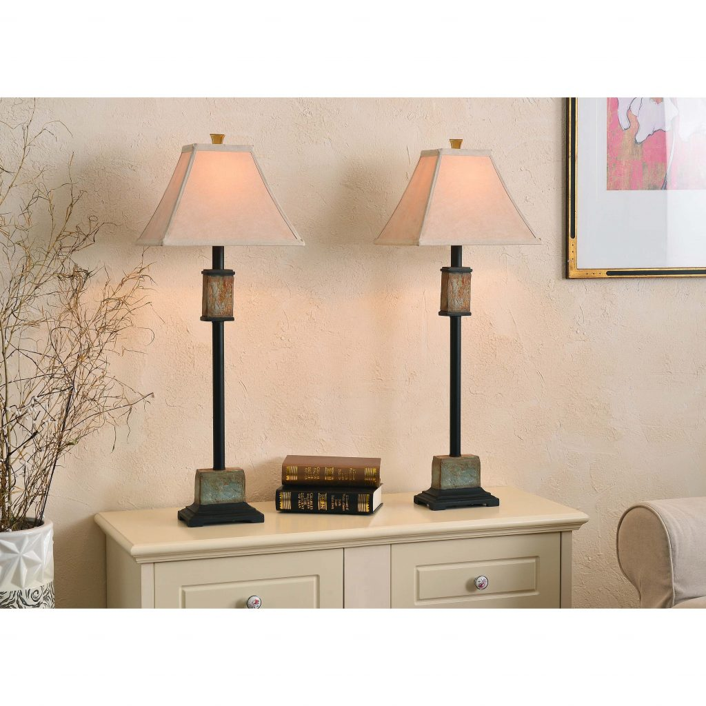 Shop Copper Grove Hersey Buffet Lamp Set Of 2 Free Shipping