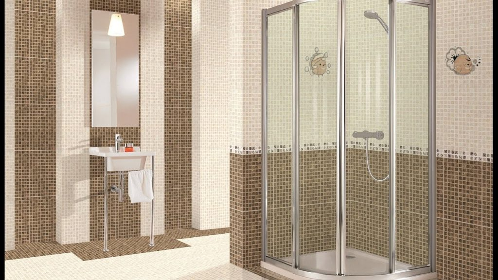 Shower Designs With Glass Tile For Bathroom Youtube
