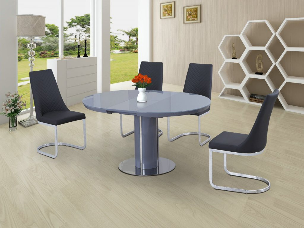 Small Round Extendable Dining Table Briggs And Jones