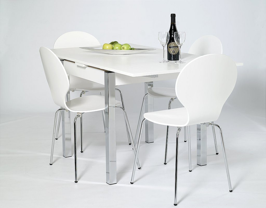 Small White Round Table And Chairs Table Design Ideas