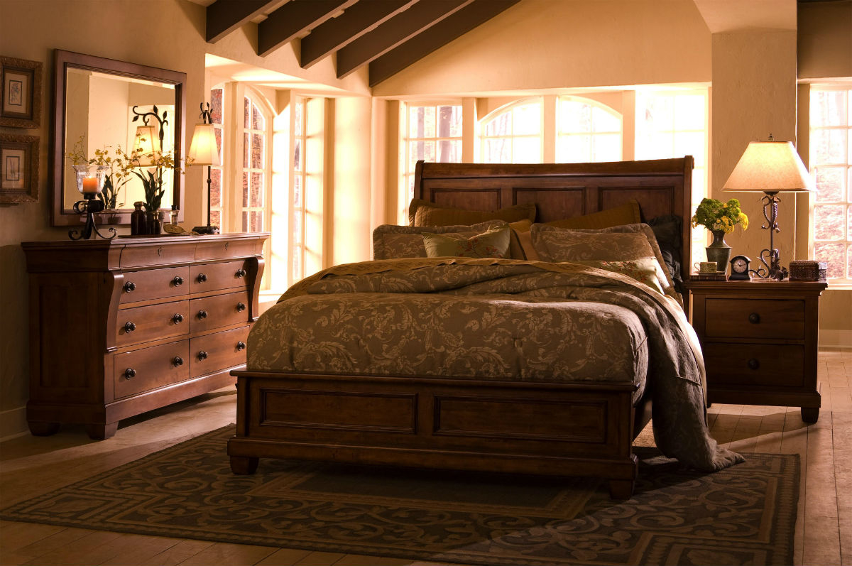 Solid Wood Bedroom Sets At Bedroom Furniture Discounts