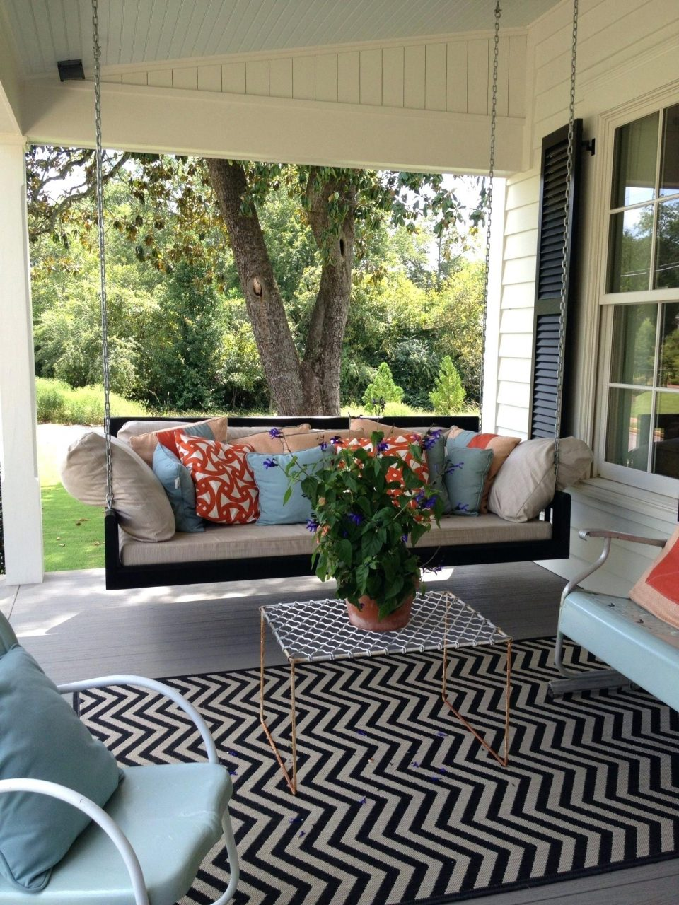 Southern Living Patio Furniture Southern Living Home In Front Porch