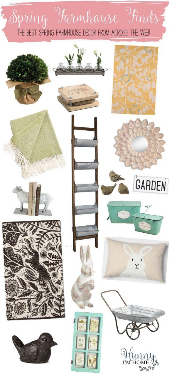 Spring Farmhouse Decor The Best Spring Farmhouse Finds From Across