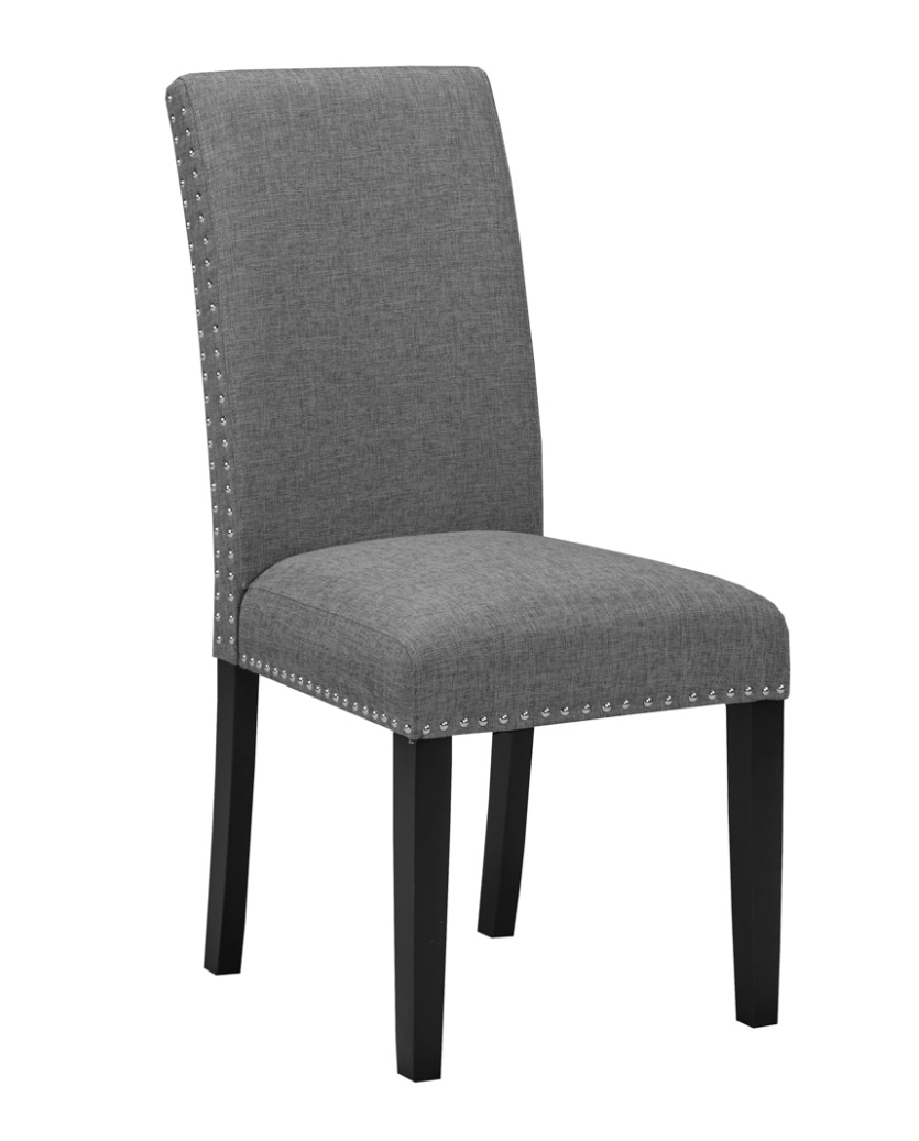 Star Grey Fabric Dining Room Chair Furniture Pro Fix