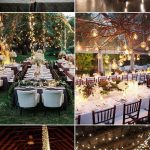 Outdoor Wedding Lighting Decoration Ideas