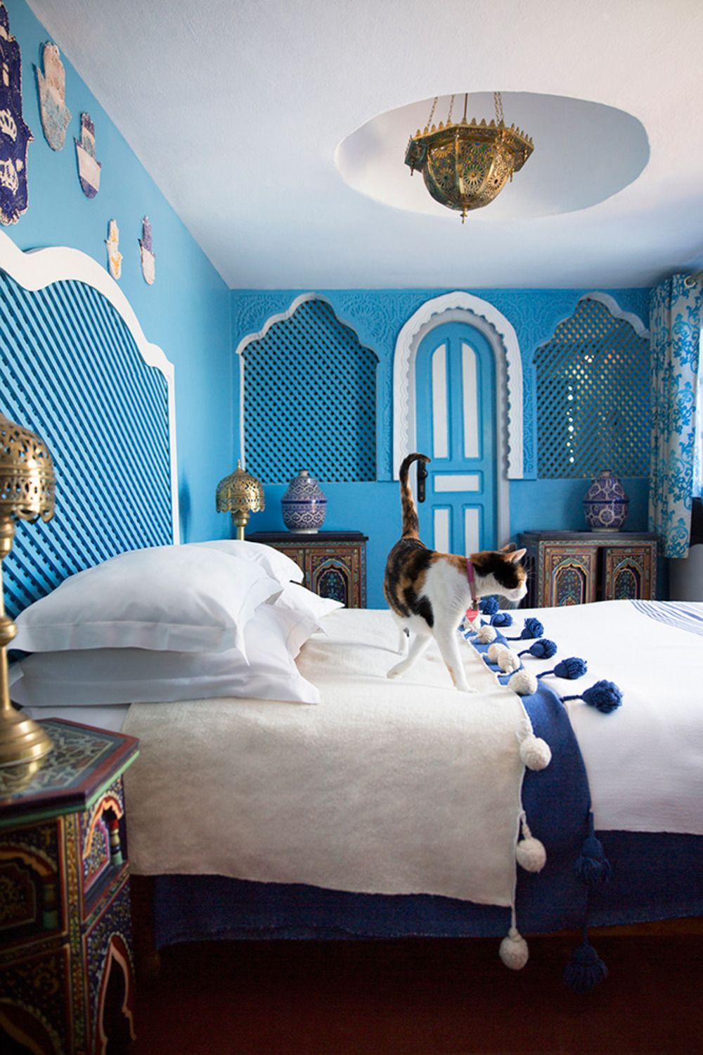 Tangier Midnight At The Oasis Exotic Bedrooms Moroccan Bedroom Layjao