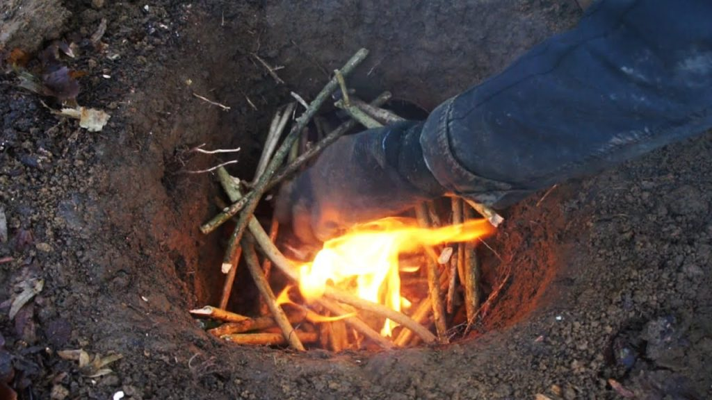 The Dakota Fire Hole Stealth Fire Youtube