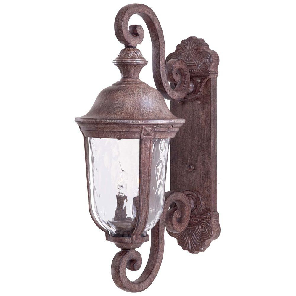 The Great Outdoors Minka Lavery Ardmore 2 Light Vintage Rust