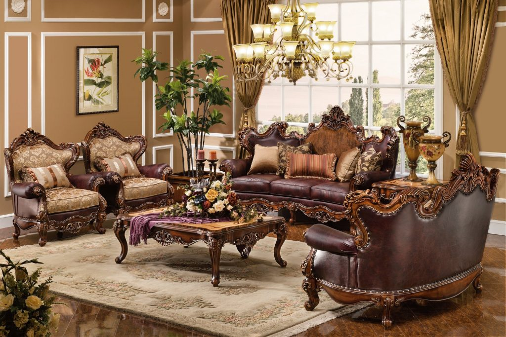 The Normandy Formal Living Room Collection